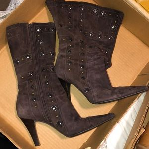 Leather boots !